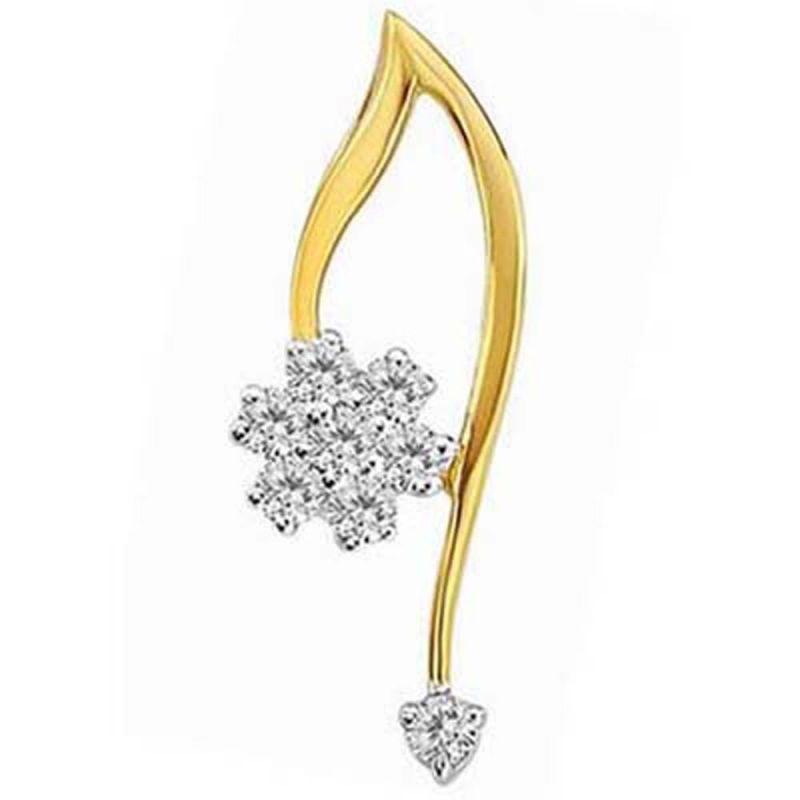 Buy Ag Real Diamond Divya Pendant Agsp0142a online