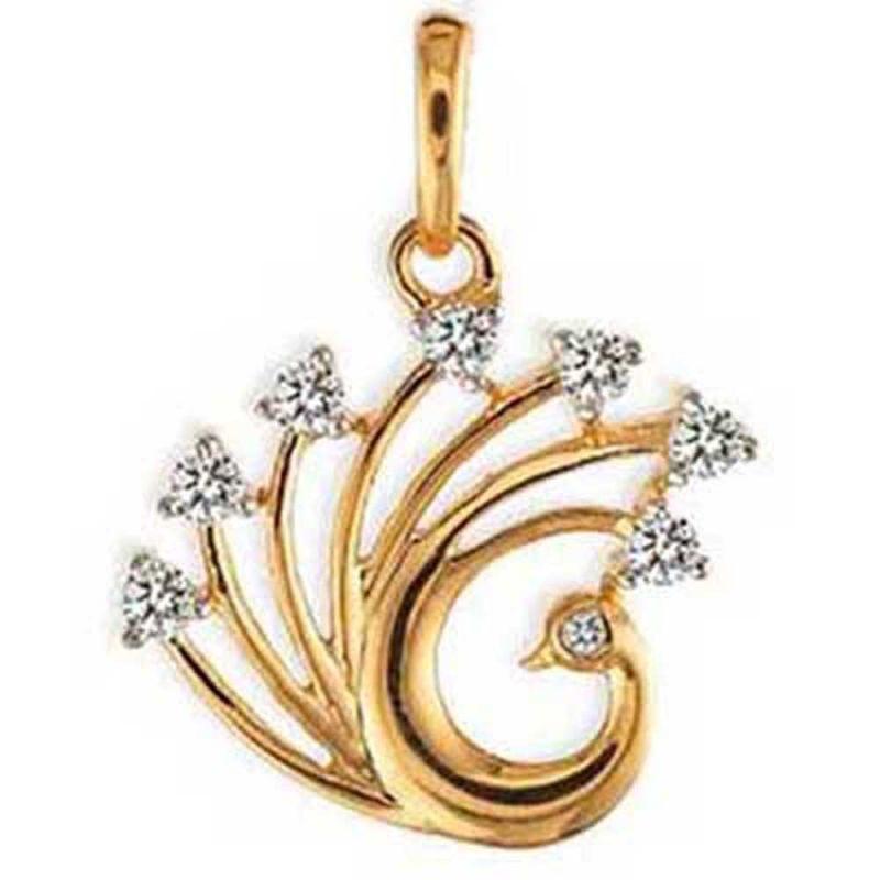 Buy Ag Real Diamond Panjab Pendant online