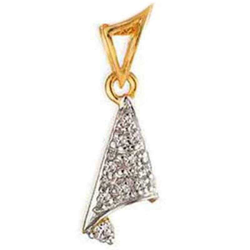 Buy Ag Real Diamond Channai Pendant Agsp0147a online