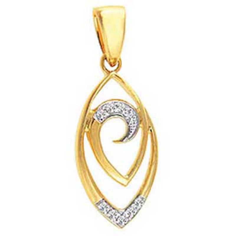 Buy Ag Real Diamond Neelam Pendant Agsp0148a online
