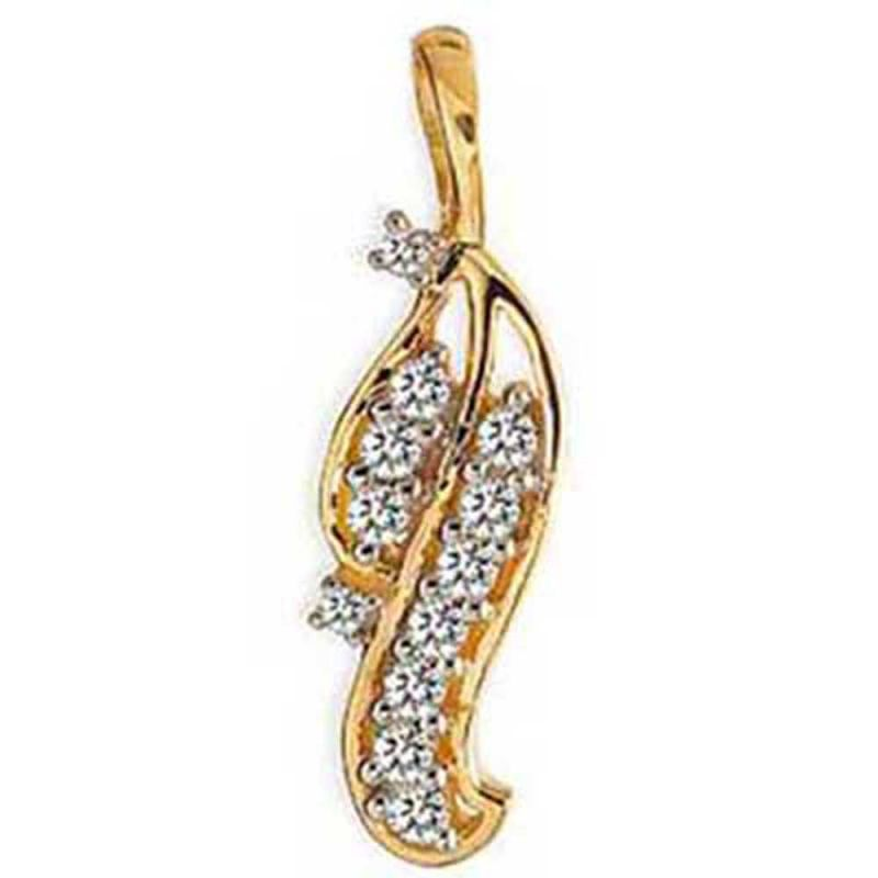 Buy Ag Real Diamond Radhika Pendant online