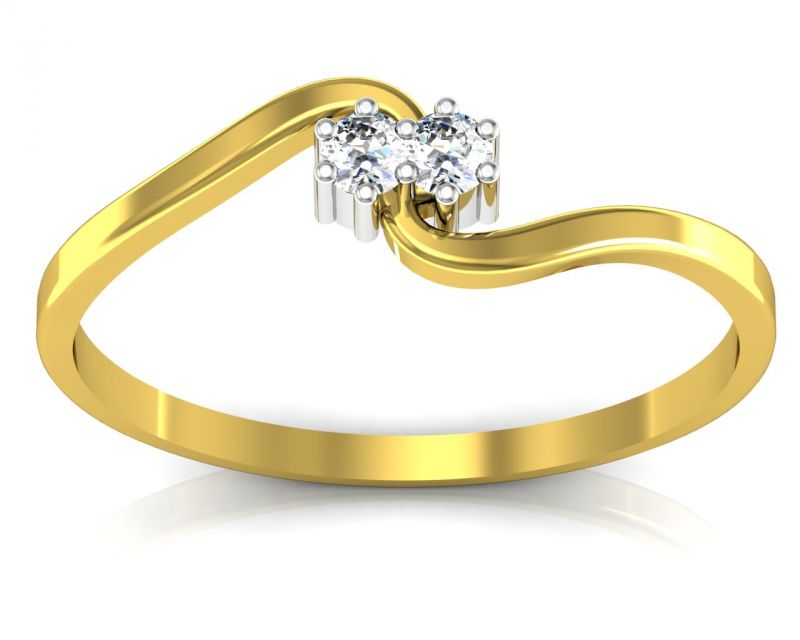 Buy Ag Real Diamond Telagu Ring online