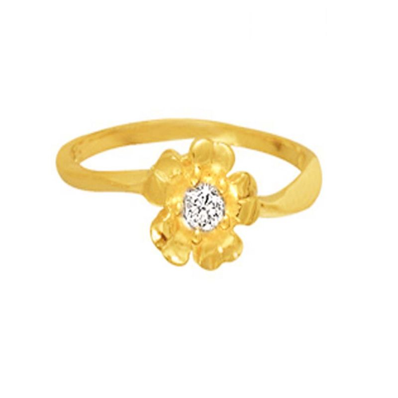 Buy Ag Real Diamond Rohini Ring Agsr0015a online