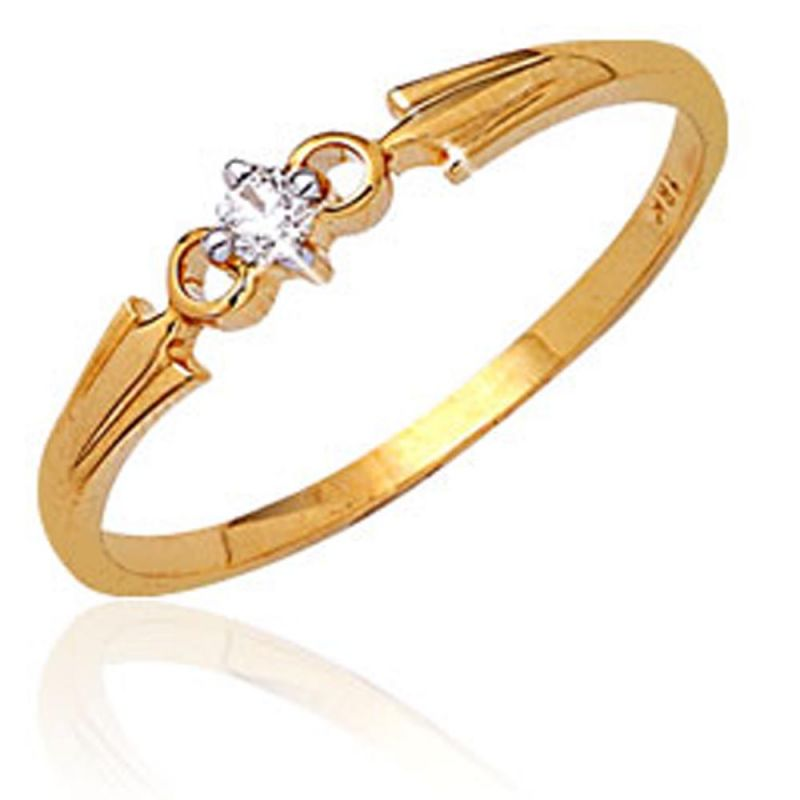 Buy Ag Real Diamond Gujarat Ring Agsr0036a online