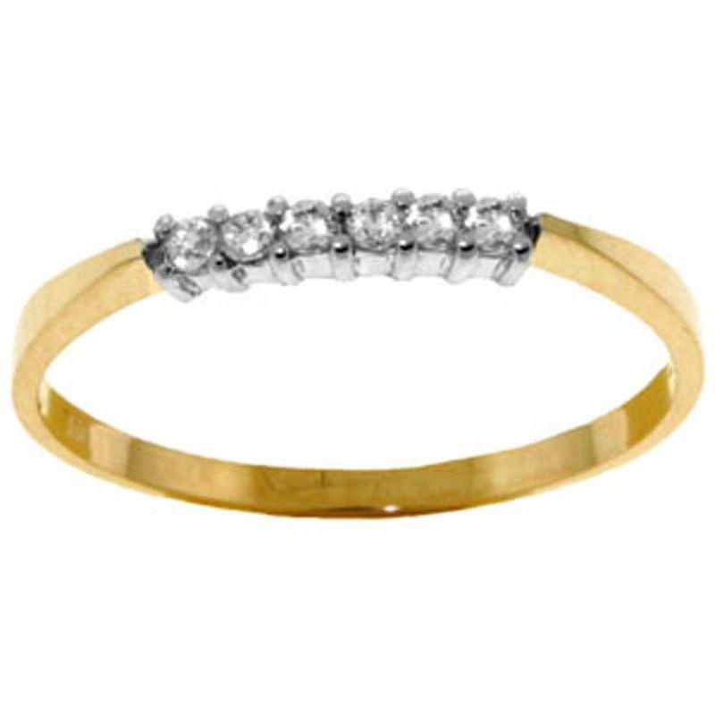 Buy Ag Real Diamond Mohini Ring Agsr0048a online