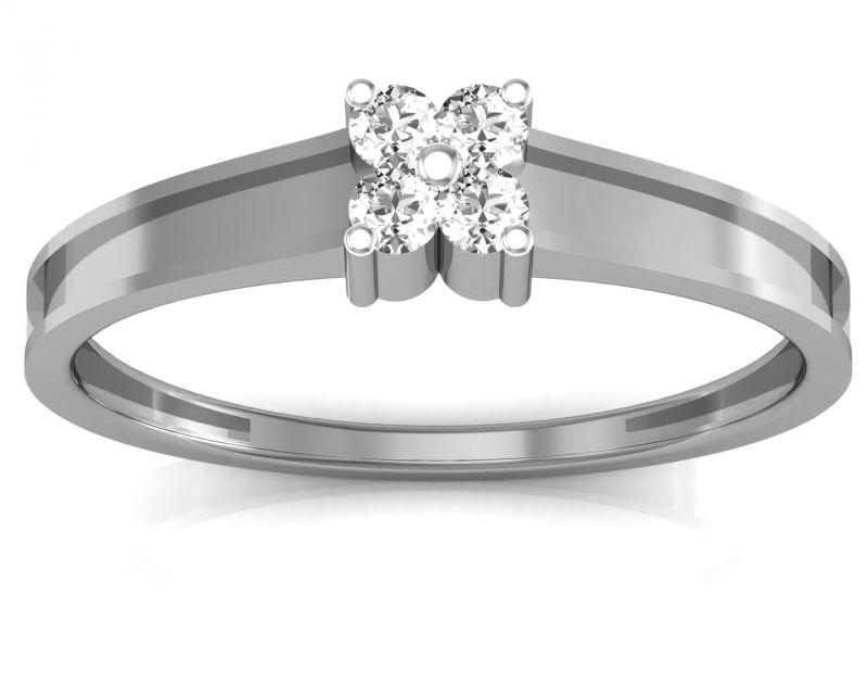 Buy Ag Real Diamond Preeti Ring Agsr0056w online