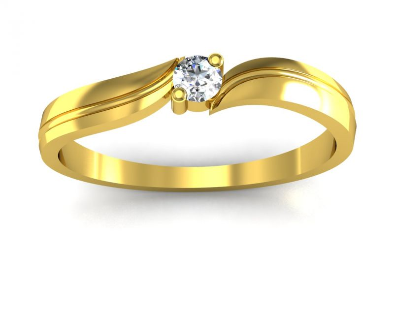 Buy Ag Real Diamond Anjalee Ring Agsr0066y online
