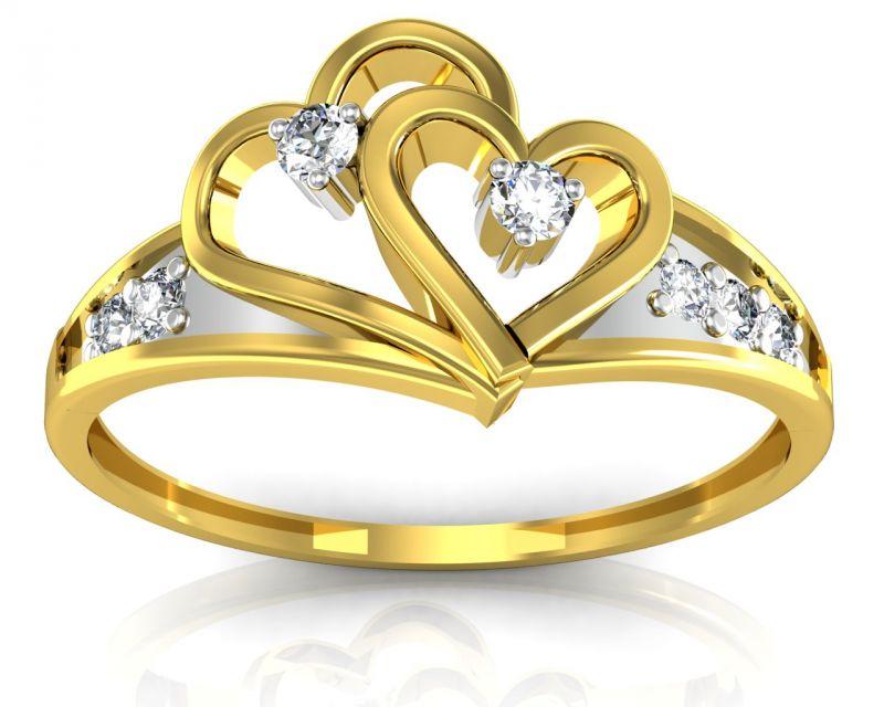 Buy Ag Real Diamond Kishori Ring Agsr0098y online