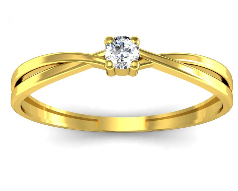Buy Ag Real Diamond Nidhi Ring online