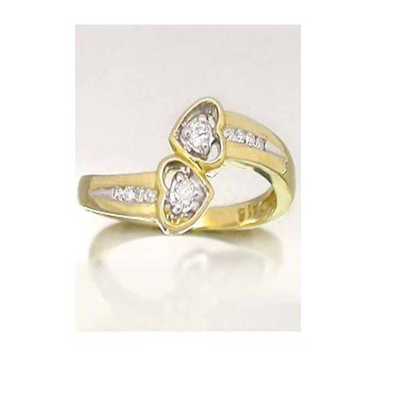 Buy Ag Silver & Real Diamond Anjali Ring online