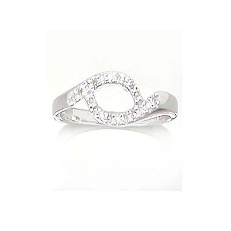 Buy Ag Real Diamond Jiya Ring Agsr0111a online