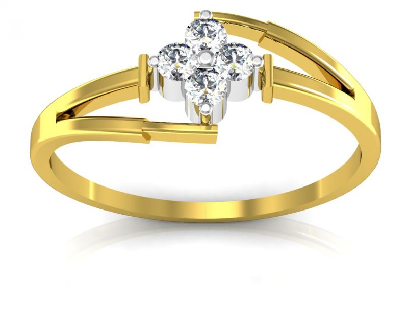 Buy Ag Real Diamond Vidya Ring online