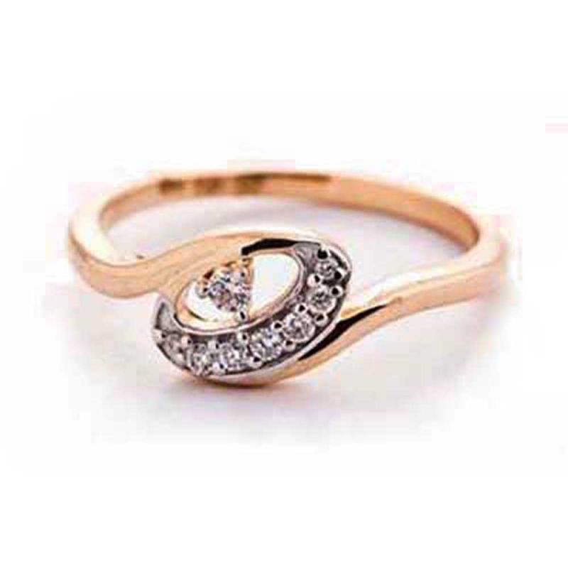 Buy Ag Silver & Real Diamond Naina Ring online