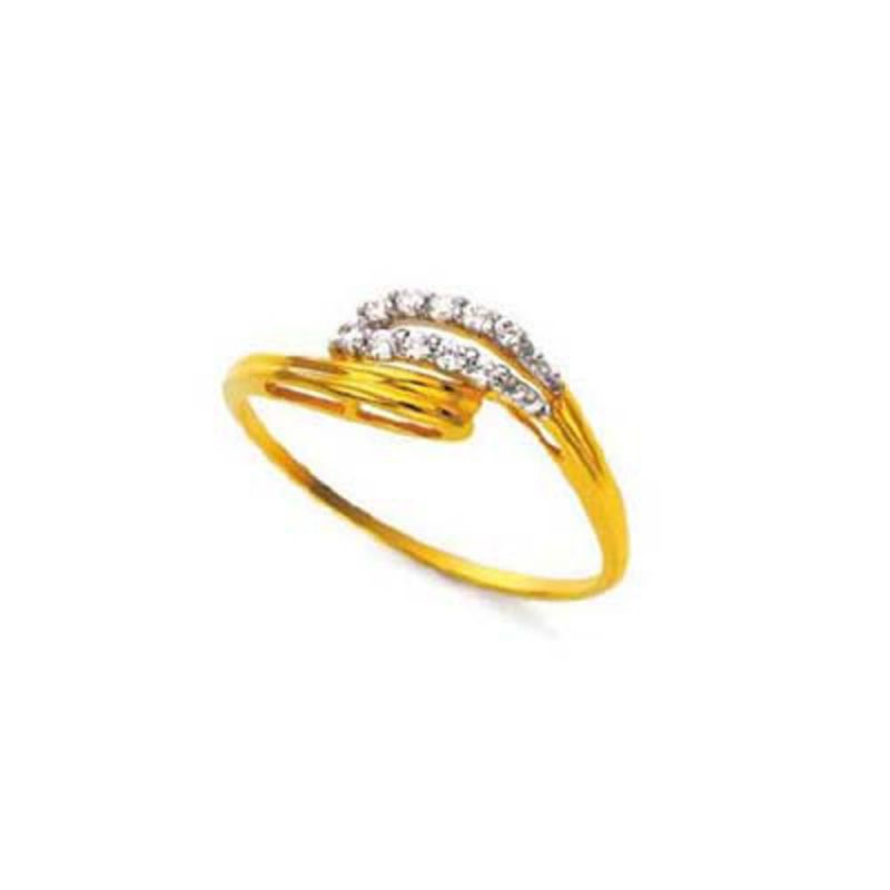 Buy Ag Silver & Real Diamond Sejal Ring online
