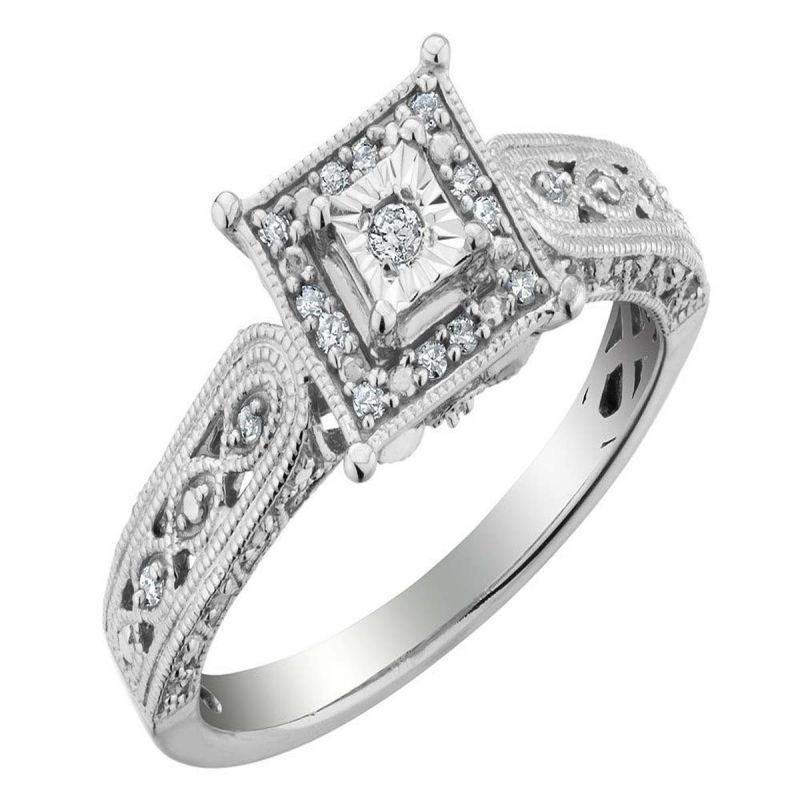 Buy Ag Real Diamond Rani Ring online