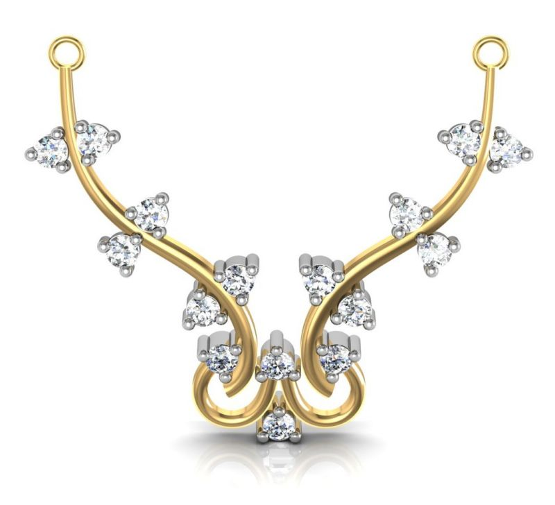 Buy Avsar Real Gold and Diamond Mumbai Mangalsuta online