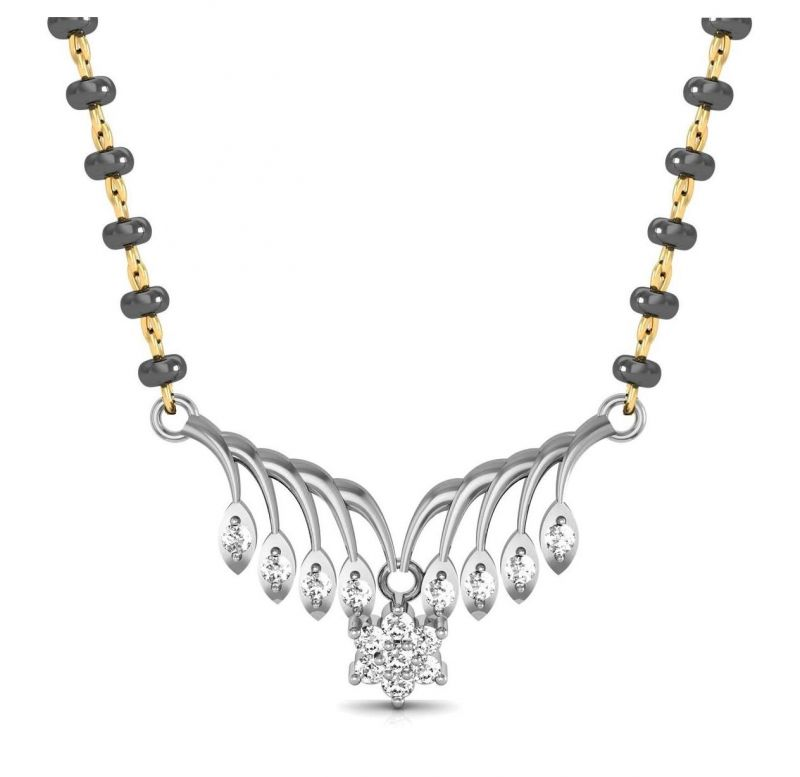 Buy Avsar Real Gold and Swarovski Stone MangalsutRa online