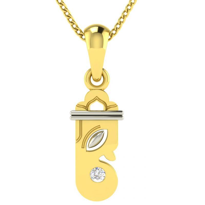 Buy Avsar Real Gold Saniya Pendant Avp022yp online