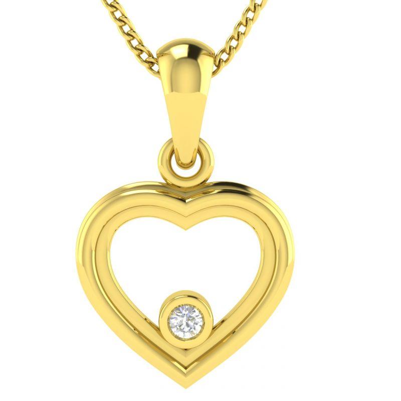 Buy Avsar Real Gold Priya Pendant Avp041yp online