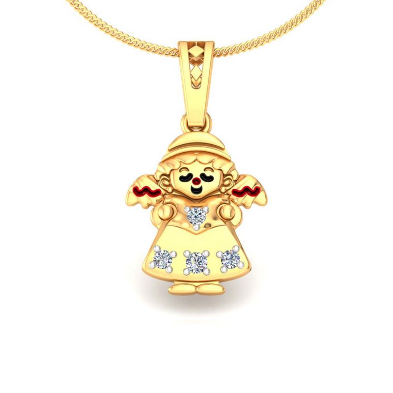 Buy avsar real gold and diamond anjali pendant online best buy avsar real gold and diamond anjali pendant online aloadofball Choice Image