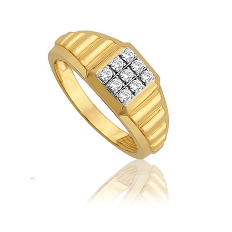 Buy Avsar Real Gold And Diamond Priya Ring ( Code - Avr001n ) online