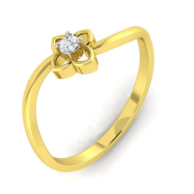 Buy Avsar Real Gold Anjali Ring Online | Best Prices in India ...