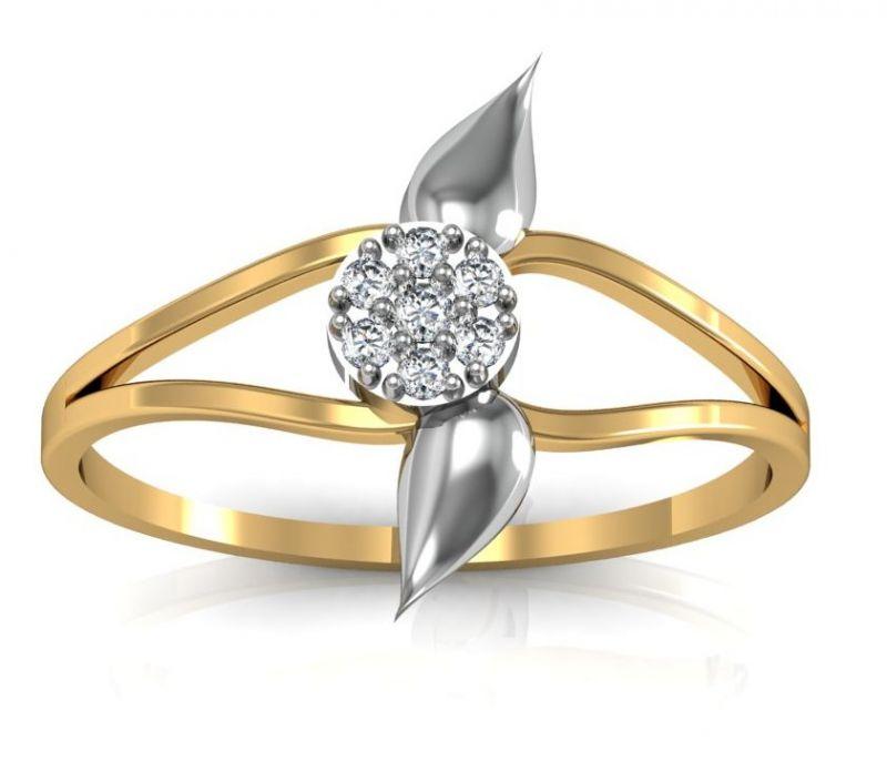 Buy Avsar Real Gold and Diamond Chennai Ring line