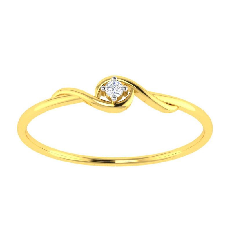 Buy Avsar Real Gold and Diamond Varsha Ring online