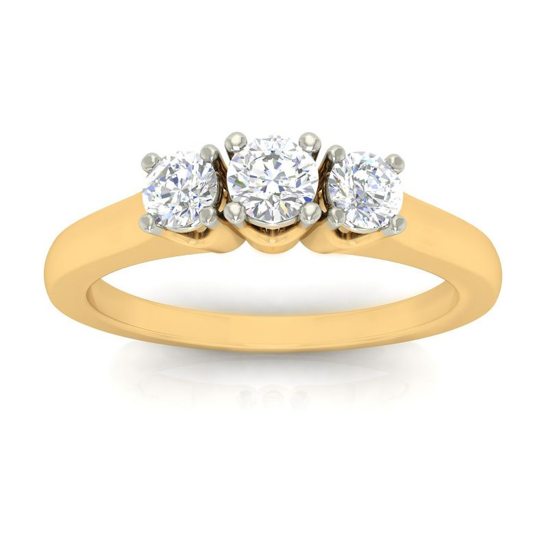 Buy Avsar Real Gold Anjali Ring online