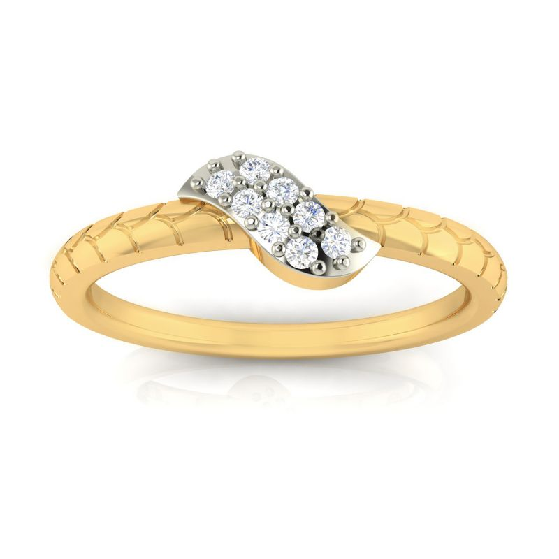 Buy Avsar Real Gold and Diamond Sakshi Ring online