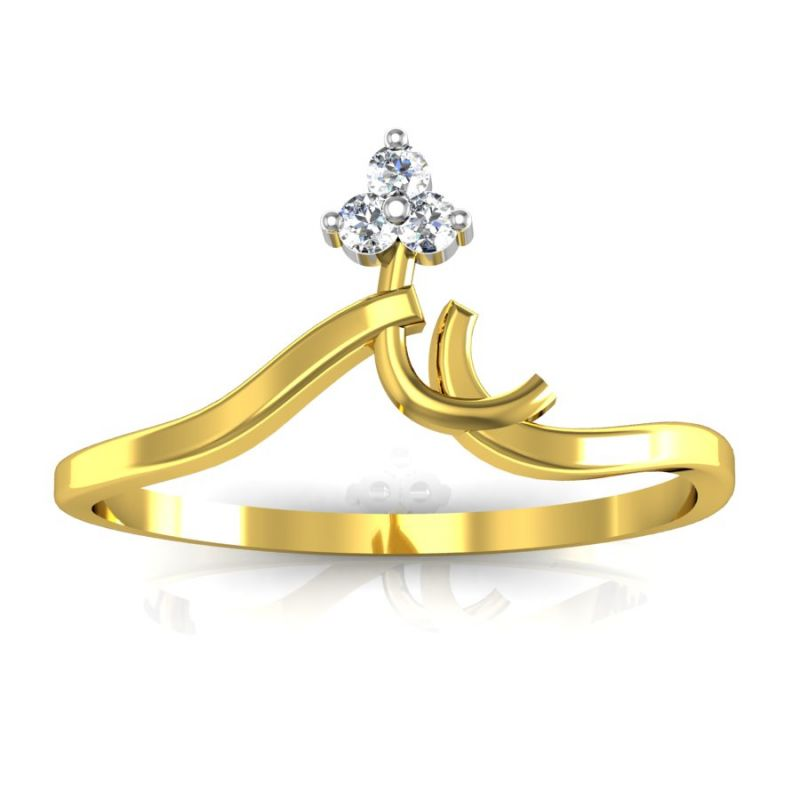 Buy Bling Ring Real Gold and Diamonds Chennai Ring line