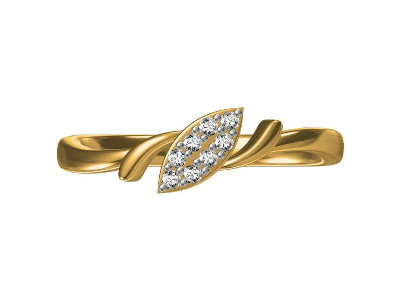 Buy Kiara  Sterling Silver Komal Ring online
