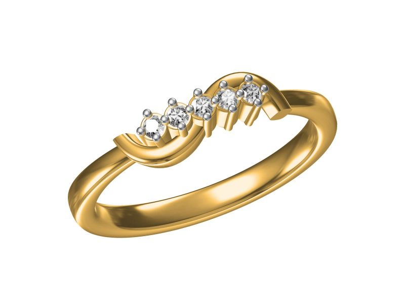 Buy Kiara  Sterling Silver Parvati  Ring online