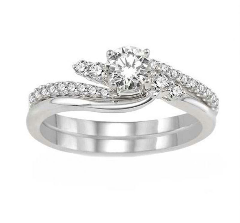 Buy 0.40 CT ENGAGEMENT 14K GOLD DIAMOND RINGS online