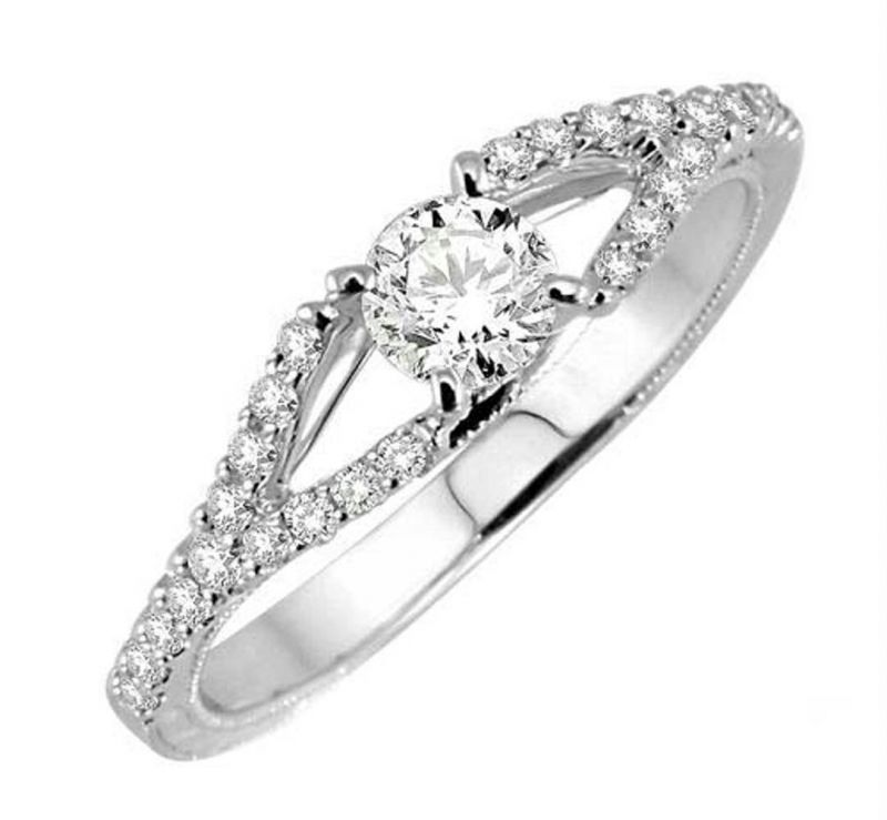 Buy 0.41 CT ENGAGEMENT 14K GOLD DIAMOND RINGS online