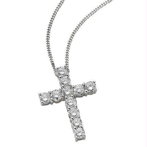 Buy Cross Of Life 14k Gold Diamond Pendant online