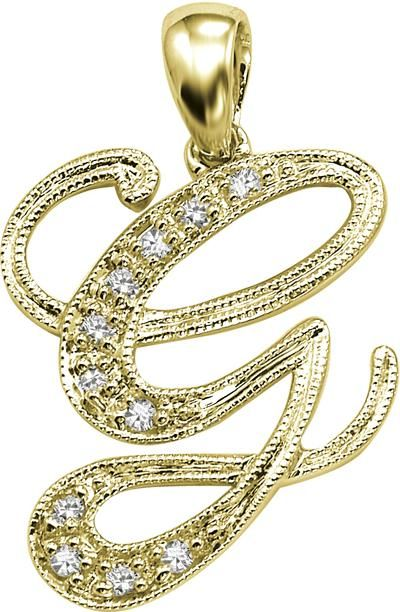 Buy kiara g alphabet design american diamond pendant online best buy kiara g alphabet design american diamond pendant online aloadofball Images