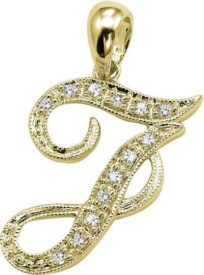Buy Kiara U0027ju0027 Alphabet Design American Diamond Pendant Online