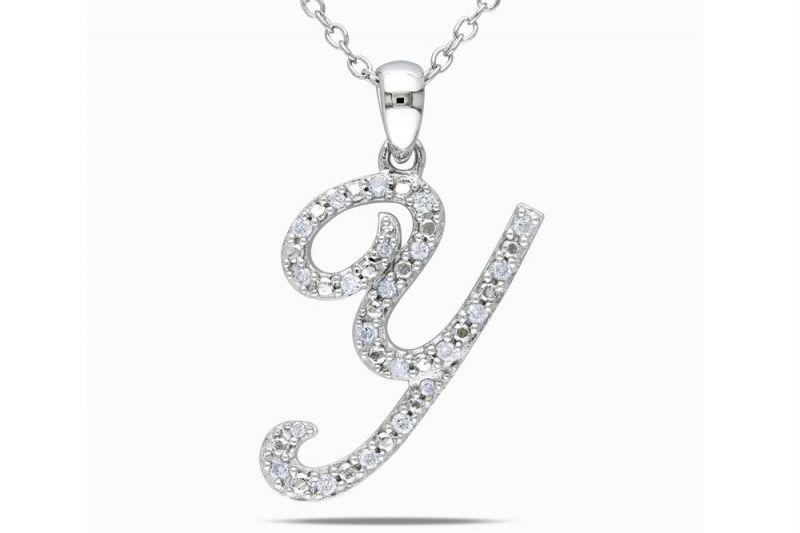 Buy Kiara 'y' Alphabet Design Ad Pendant Kip0169 online