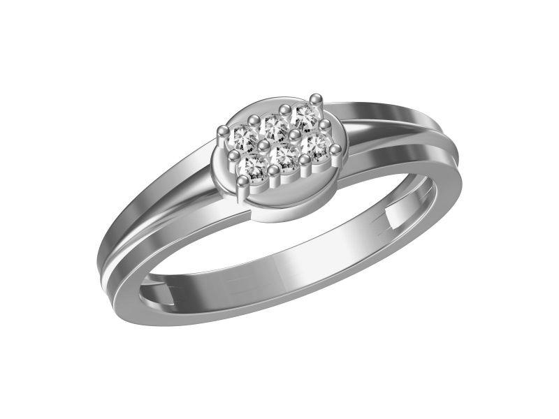 Buy Kiara Sterling Silver Urmila Ring Kgr315w online