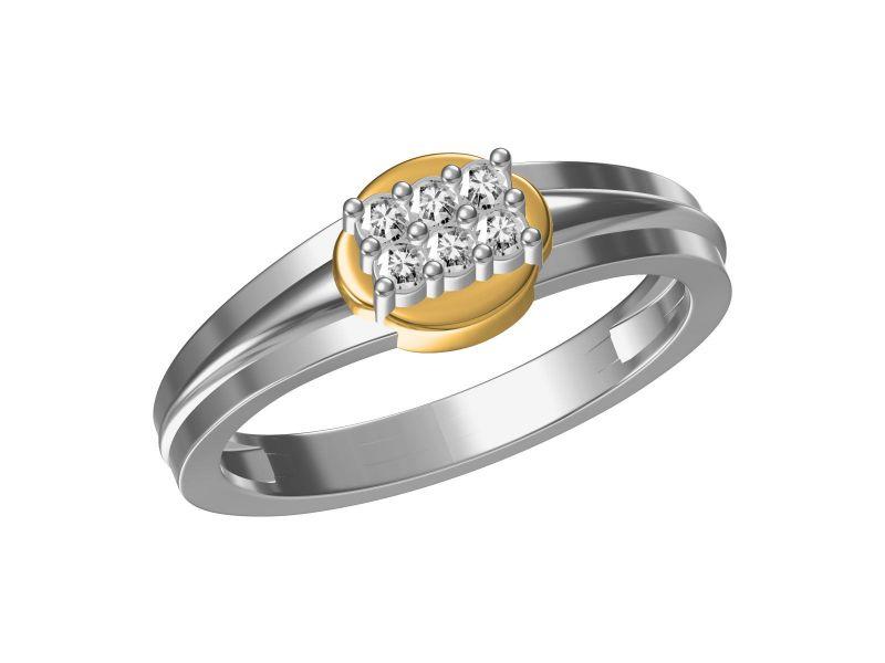 Buy Kiara Sterling Silver Devarshi Ring Kgr315wt online