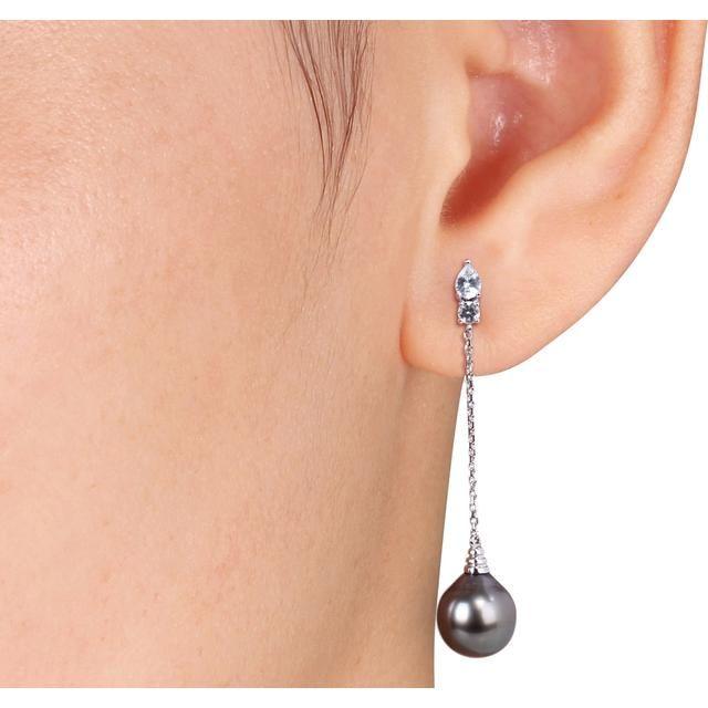 33a62fa280b Buy Kiara Swarovski Signity Sterling Silver Payal Earring Online ...