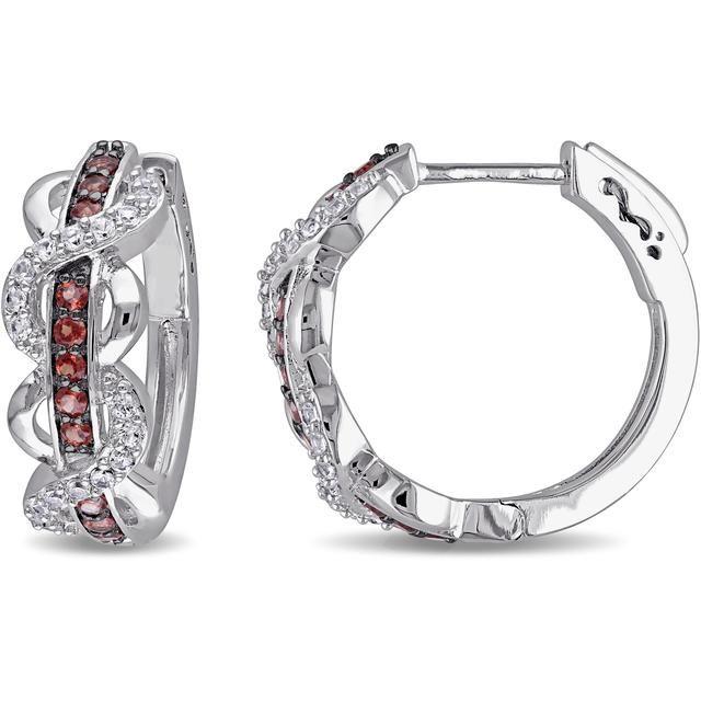 Buy Kiara Swarovski Signity Sterling Silver Radhika Earring online