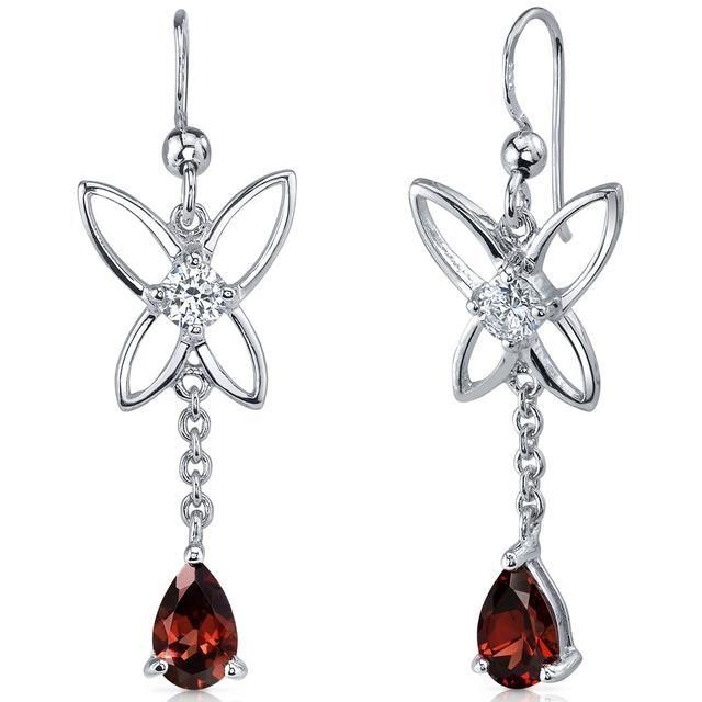 Buy Kiara Swarovski Signity Sterling Silver Samiksha Earring online