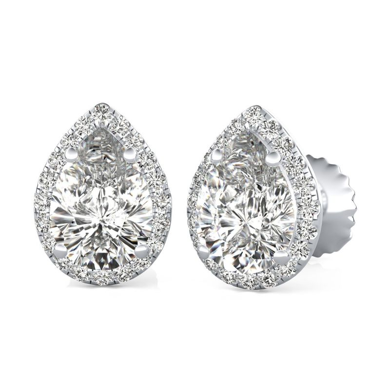 Buy Kiara Sterling Silver Ranchi Earring online