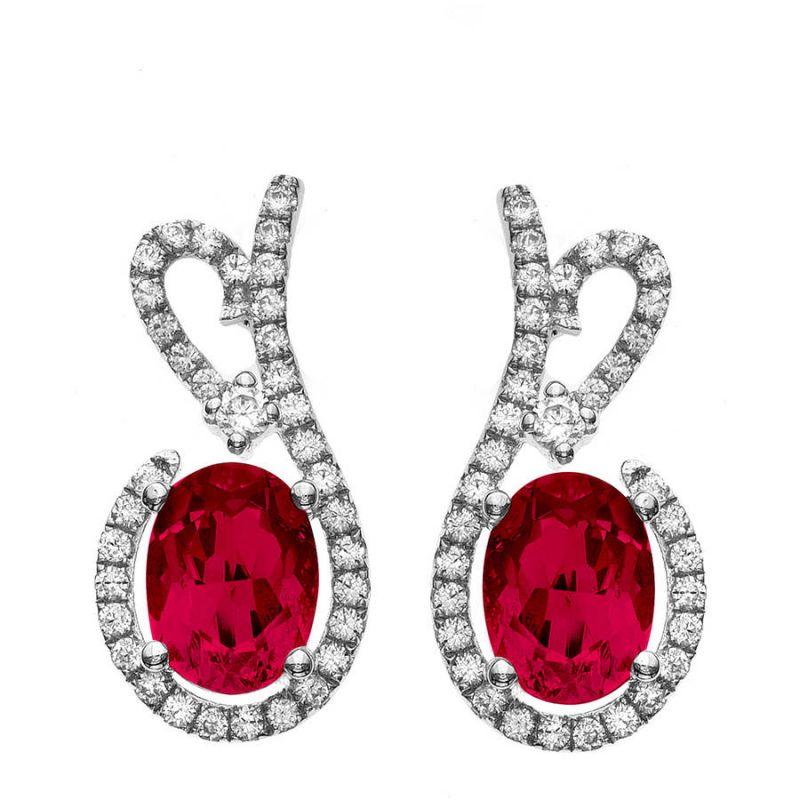 Buy Kiara Swarovski Signity Sterling Silver Krupa Earring Kie0452 online