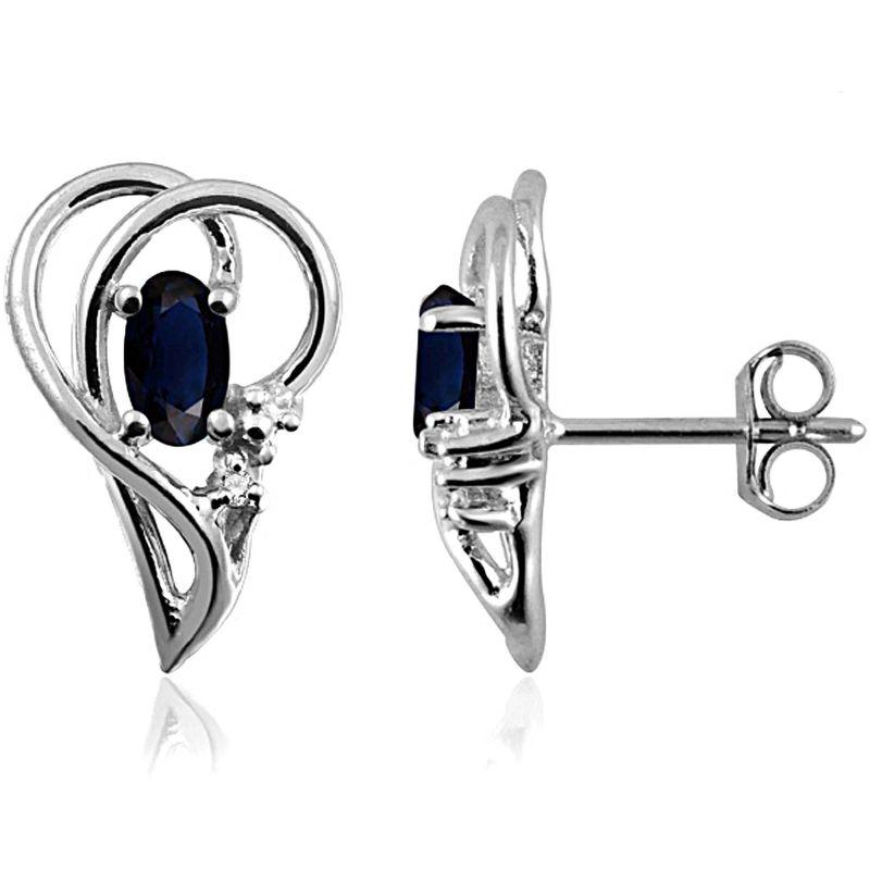 Buy Kiara Swarovski Signity Sterling Silver Priya Earring online