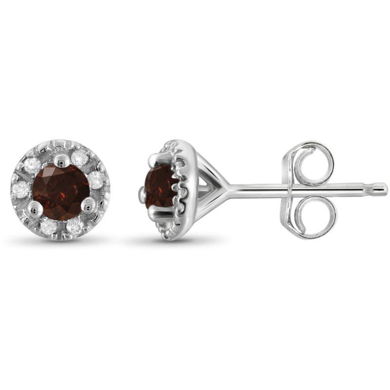 Buy Kiara Swarovski Signity Sterling Silver Priti Earring online