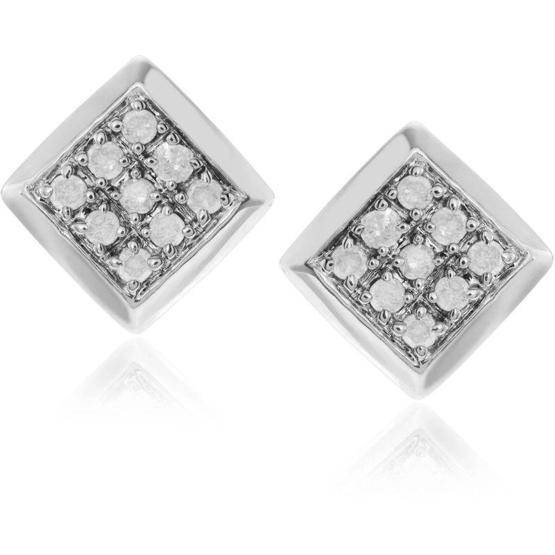 Buy Kiara Swarovski Signity Sterling Silver Pragati Earring Kie0486 online
