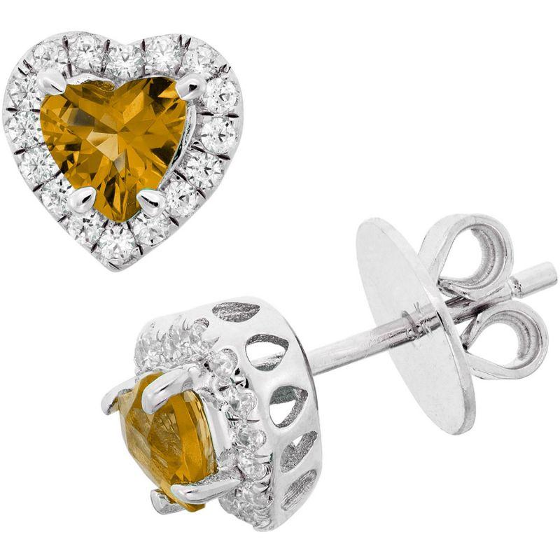 Buy Kiara Swarovski Signity Sterling Silver Sapna Earring Kie0494 online